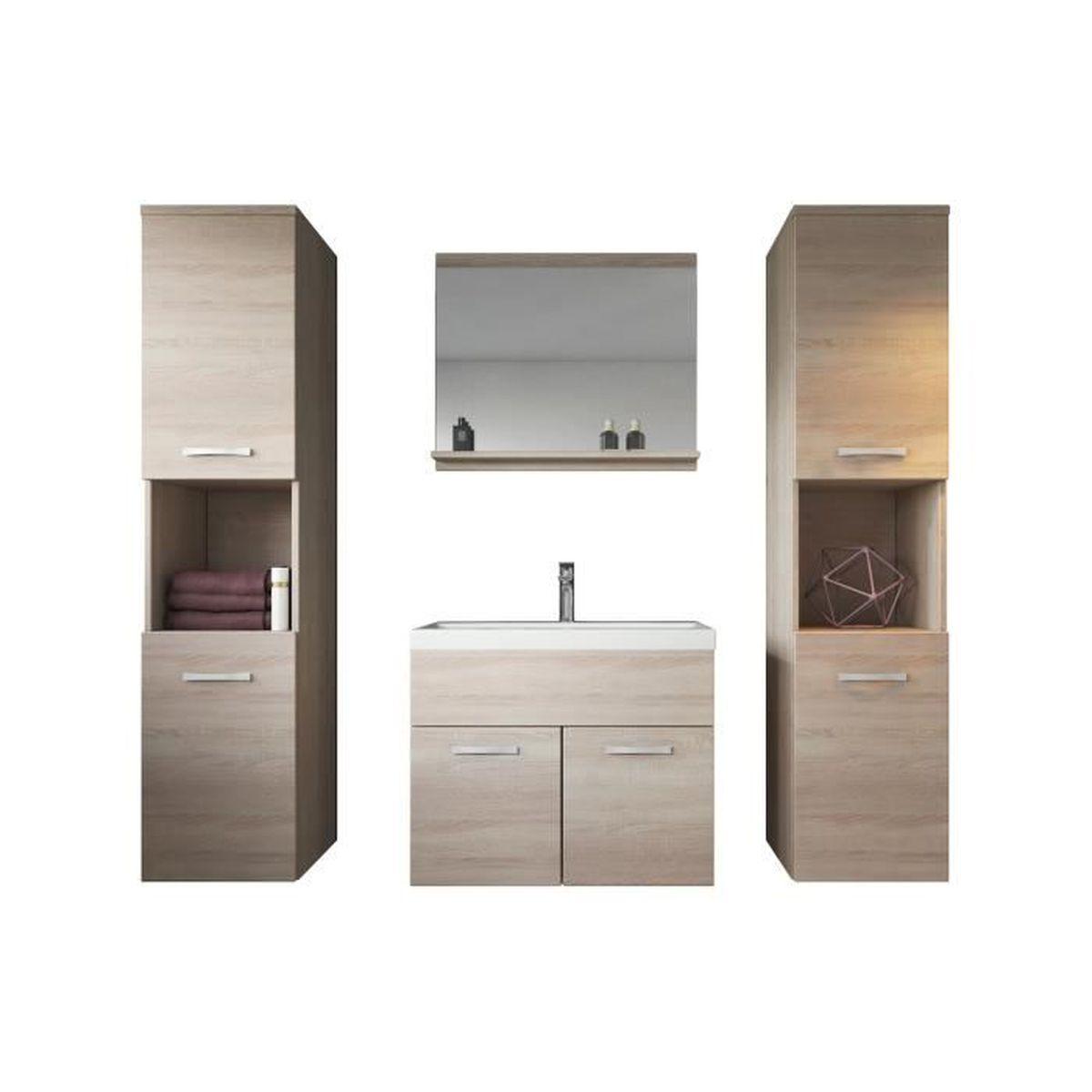 Evier Meuble Salle De Bain meuble de salle de bain de montréal xl 60 cm bassin en bois