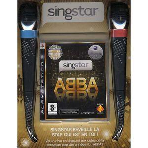 JEU PS3 SINGSTAR ABBA + MICROS / JEU CONSOLE PS3