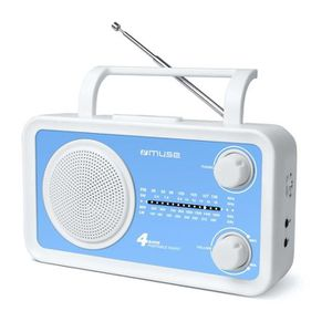 MUSE M-05 BL Radio portable 4 gammes