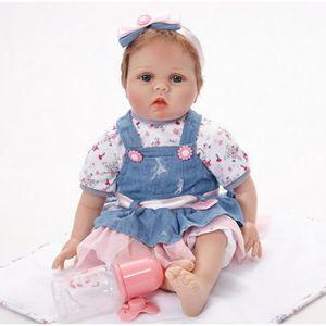 POUPÉE Poupée bébé réaliste en silicone doux réaliste de