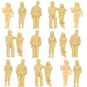 25 x Debout Figurines pour modélisme 1:50 Maquette de train Piste 0