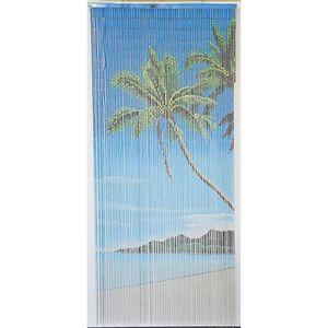 RIDEAU DE PORTE Rideau de porte Perles Bambou, Intérieur et Extéri
