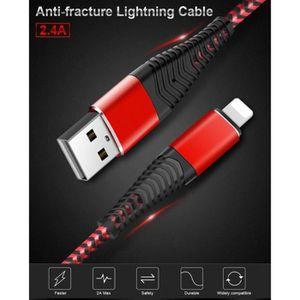 CÂBLE TÉLÉPHONE Cable Fast Charge Flexible pour Ecouteurs BeatsX L