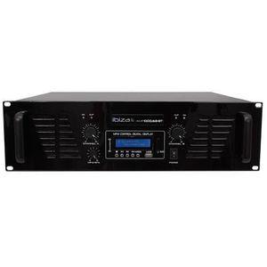 AMPLIFICATEUR HIFI IBIZA SOUND AMP1000USB-BT Amplificateur de sonoris