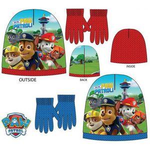 BONNET - CAGOULE ensemble bonnet gant pat patrouille