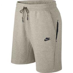 SURVÊTEMENT Short Nike Tech Fleece - Homme - Beige