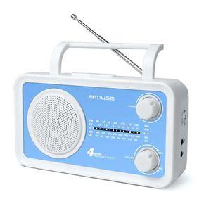 RADIO CD CASSETTE MUSE M-05 BL Radio portable 4 gammes