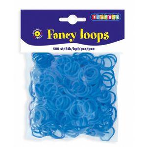500 Pbx2471093 Playbox Loops 500pcs Lt 500 Aqua Blue Loom Bands