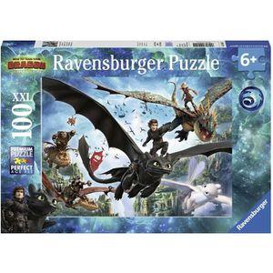 PUZZLE RAVENSBURGER Puzzle 100 p XXL - Le monde caché / D