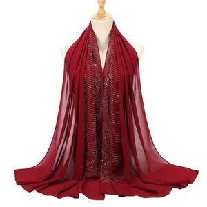 ECHARPE - FOULARD #12 Hijab Musulman Foulard Fichu Dames Couleur Uni