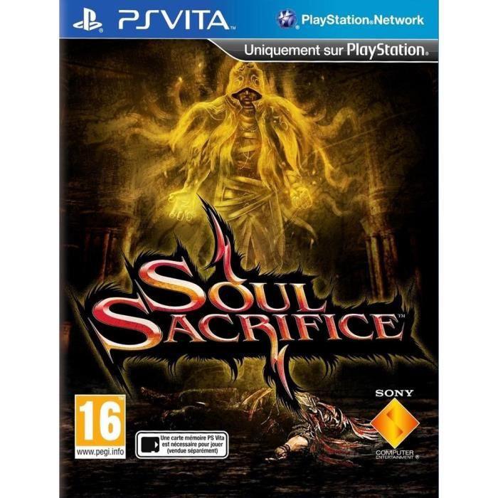Soul Sacrifice Jeu PS Vita
