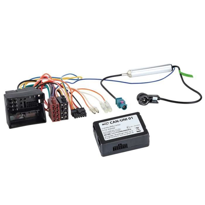 Kit CAN-Bus VW Group Nouveau Quadlock > ISO / Antenne ISO