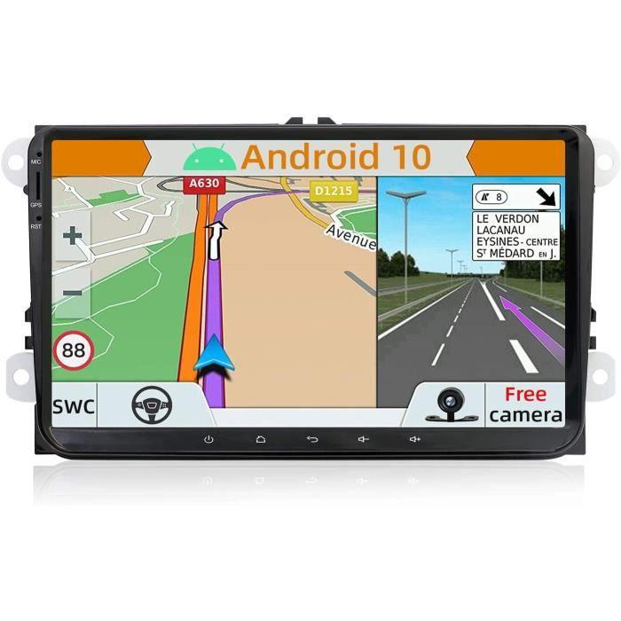 Android 10.0 Autoradio Compatible avec VW Passat-Golf-Skoda-Seat - GPS 2 Din - Caméra arrière et Canbus GRATUITES - 9 Pouce -[125]