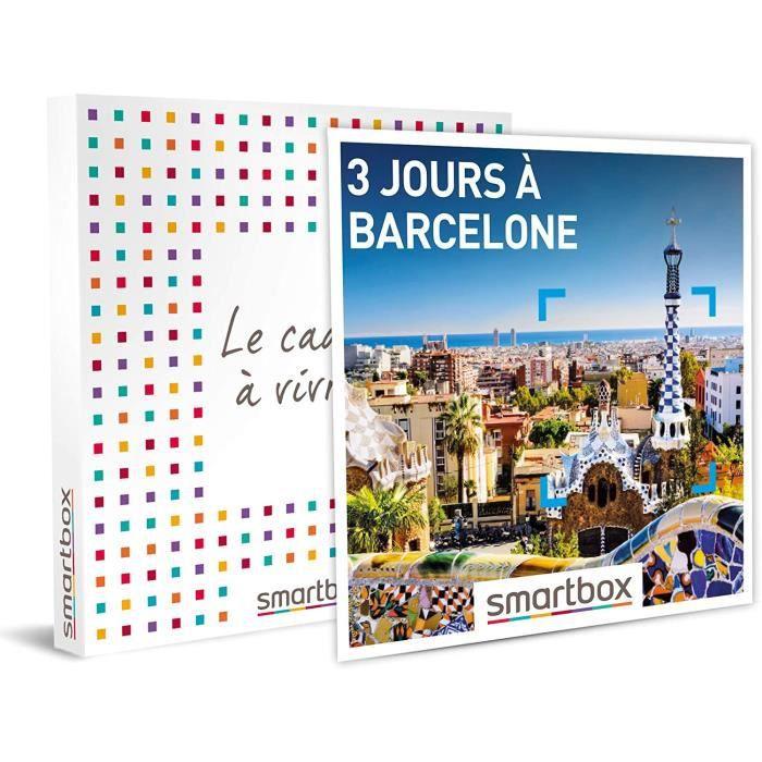Coffrets de bain et de soins SMARTBOX - Coffret cadeau - 3 jours à Barcelone - idée cadeau - 2 nuits avec petits-déjeune 85313