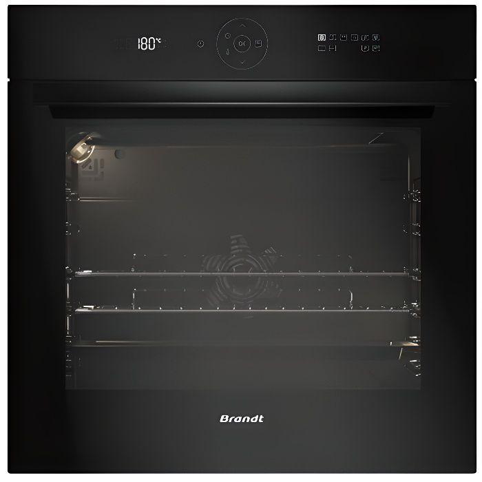 Brandt BXP6555B Intégré Electrique 73L 3385W A+ Noir four - fours (Moyenne, Intégré, Electrique, A+, Noir, toucher) [Classe énerg...