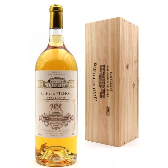 Château Filhot 2001 - Vin Blanc - Magnum 150cl - AOC Sauternes