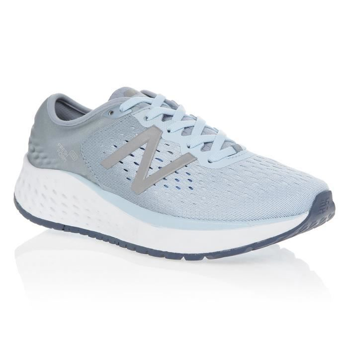 NEW BALANCE Baskets 1080 Running Bleu/Gris Femme