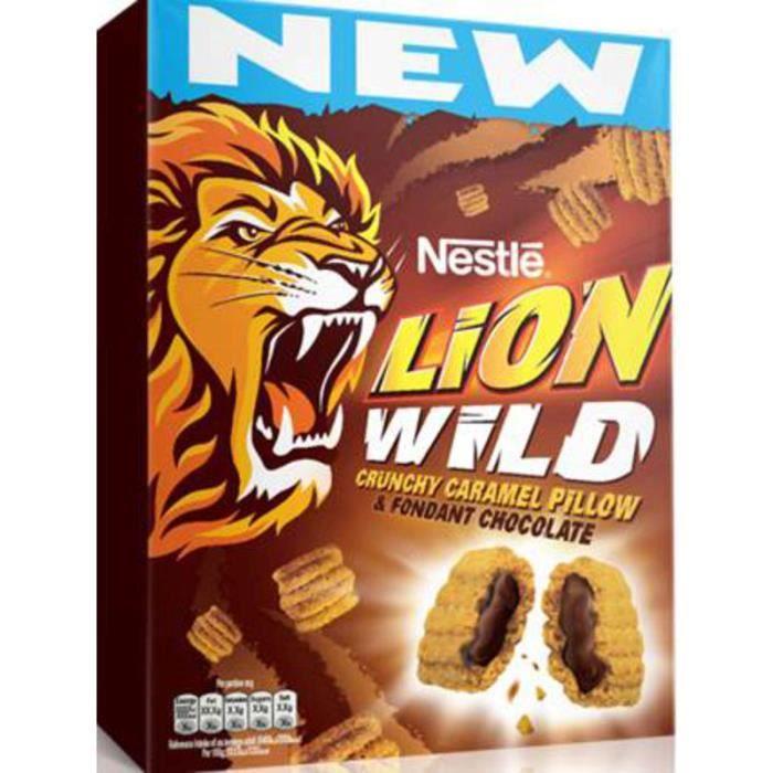 Céréale Lion wild 410g NESTLE