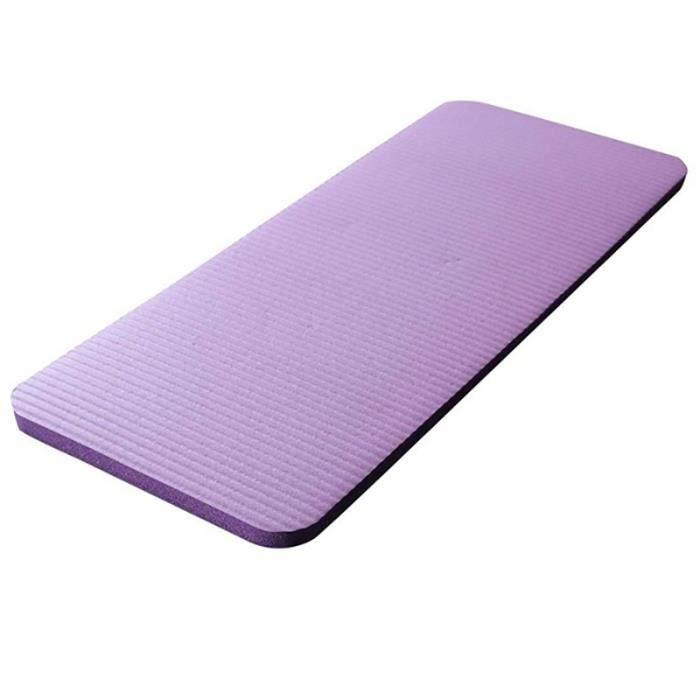 Tapis de yoga Pilates NBR 60x25x1,5cm Violet