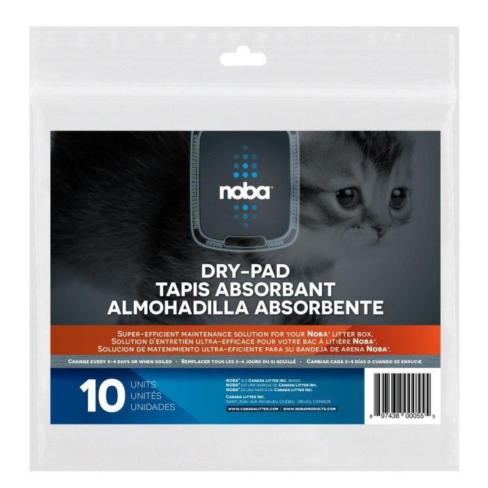 NOBA Tapis Absorbant - Pack de 10