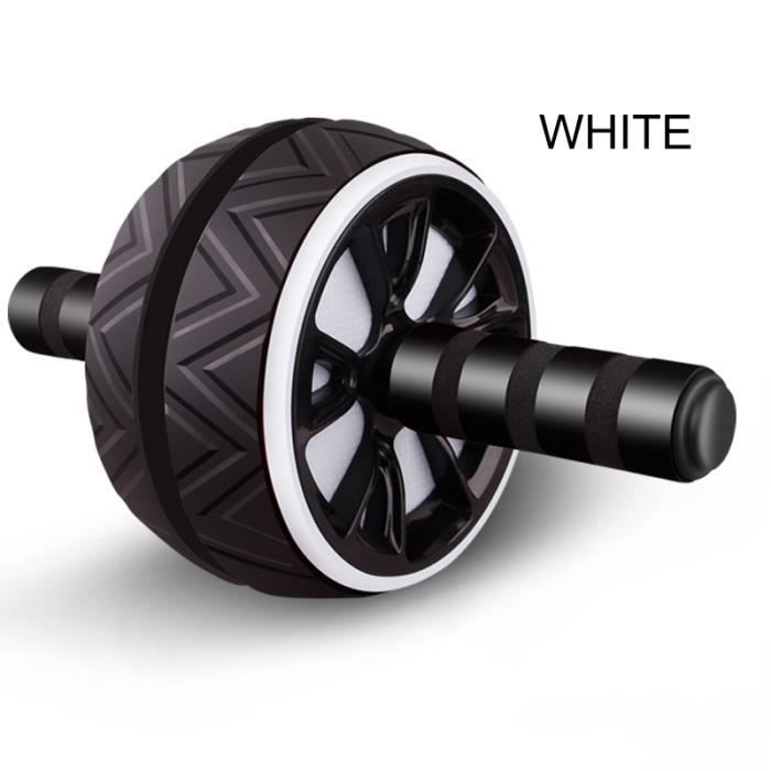 Rouleau d'entraînement des muscles abdominaux grande roue pour Fitness Abs Core Workout Abdominal Muscles Training Home Gym