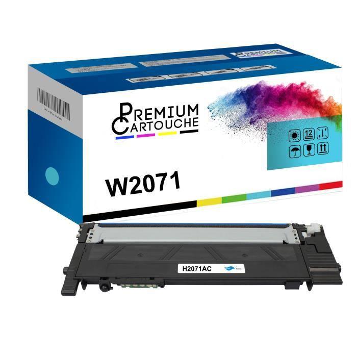 Toner W2071 Cyan Compatible pour HP color Laser 150HP color Laser MFP 178seriesHP color Laser MFP 179series HP color Laser 150HP col