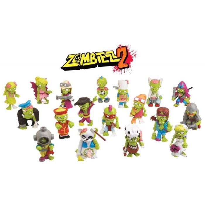 Figurine Zombiezz 2 (à l'unité) aille Unique Coloris Unique