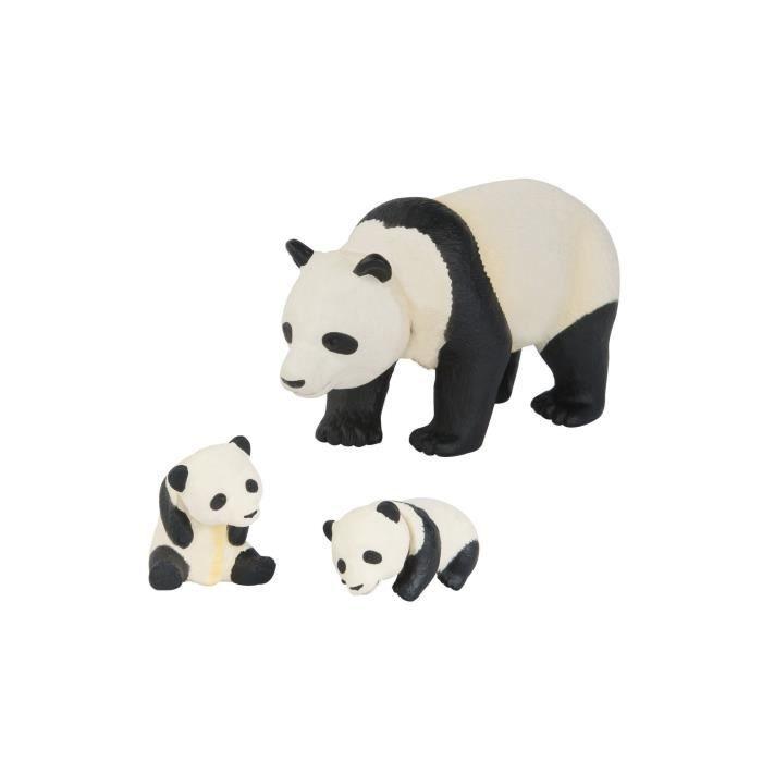 ANIA Figurines Panda et ses petits