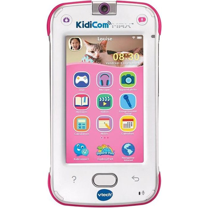 VTECH Kidicom Max Rose - Smartphone Enfant