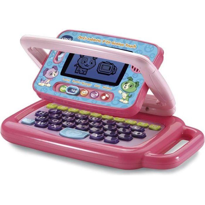 Vtech - Ordi tablette - P'tit Genius Touch - Mauve