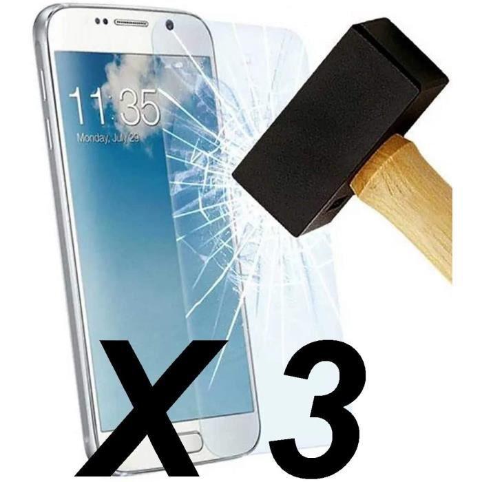compatible avec 3 film verre trempé HUAWEI Y6 2019 qualité supérieure prend en charge la technologie 3D Touch