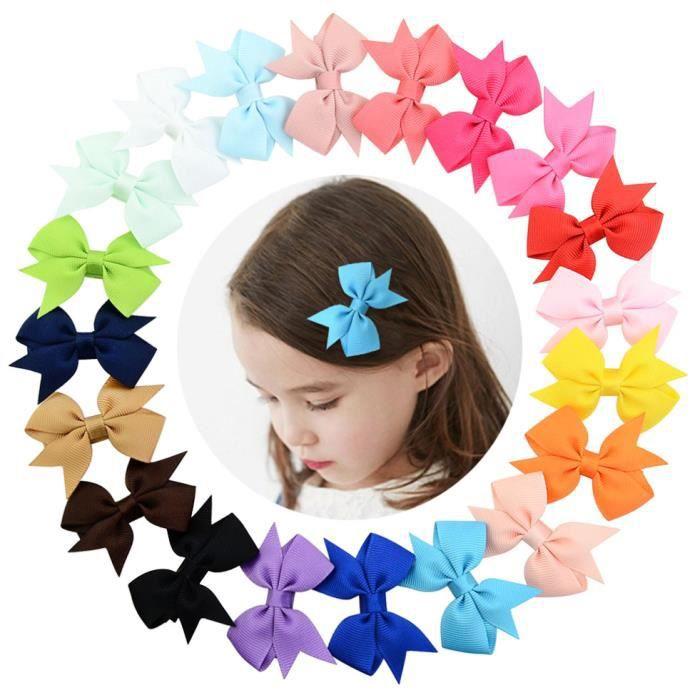 Lot Kids Girl Cheveux Tête Bande de cheveux Pony Barrette papillon Style Cadeau