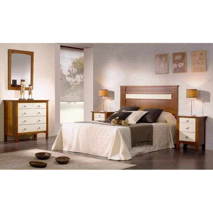 t te de lit en bois mod le bari achat vente t te de lit cdiscount. Black Bedroom Furniture Sets. Home Design Ideas