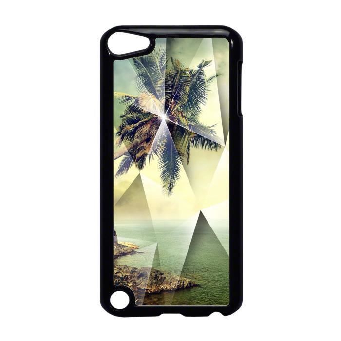 coque ipod touch 5 photographie paysage palmiers. Black Bedroom Furniture Sets. Home Design Ideas