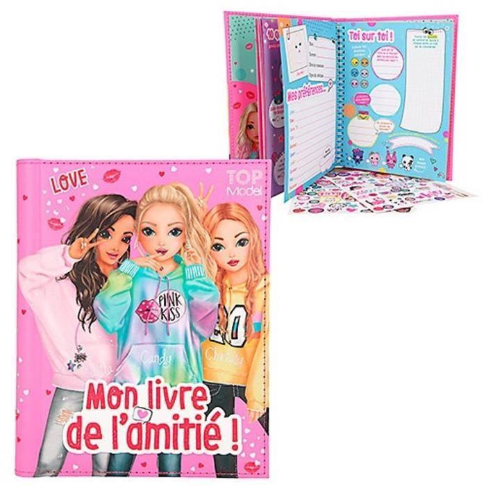 Mon Livre De L Amitie Topmodel Bff Talita Candy Et Christy Achat Vente Livre De Coloriage Cdiscount