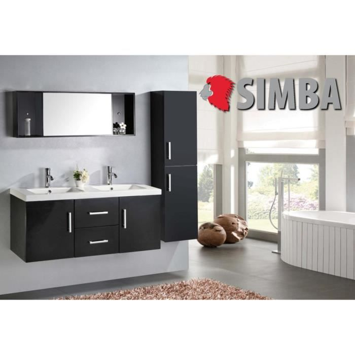 meuble salle de bain double vasque luxe beau meuble double vasque 120 cm malibu ensembles. Black Bedroom Furniture Sets. Home Design Ideas