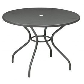 Table m tal faro fer ancien emu achat vente table for Table exterieur occasion