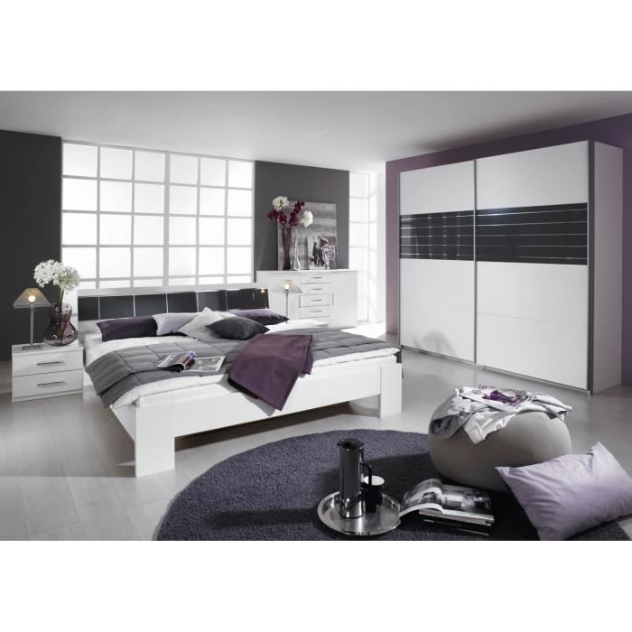 Chambre adulte compl te design slide ii achat vente for Chambres adultes completes design