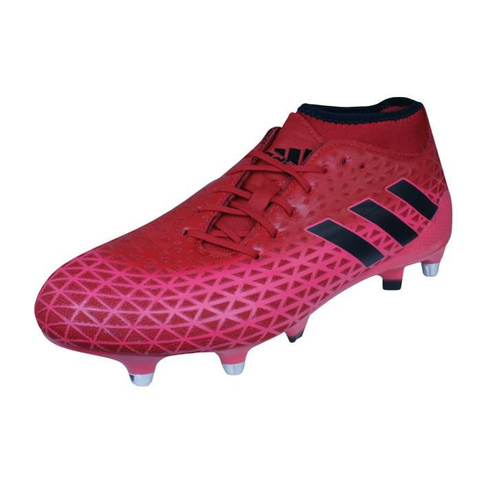 the best attitude 7660f a7943 Sg De 5 Prix Rouge Chaussures Hommes Adidas Adizero 9 Rugby Malice 64XSWEx