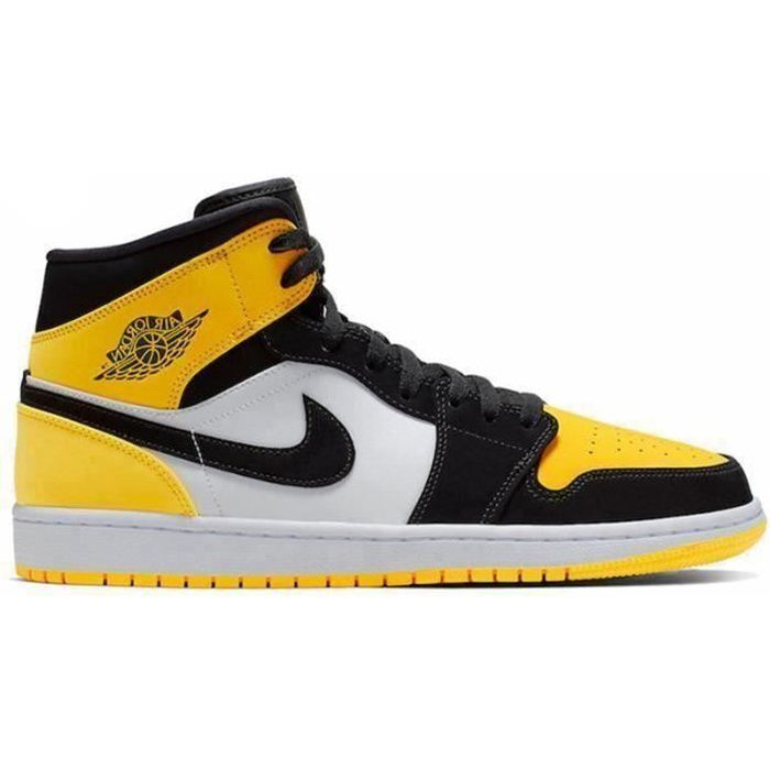 Basket NIKE Air Jordan 1 Jordans One AJ 1 Mid Chaussure pour Homme ...
