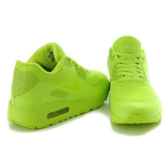 air max 90 vert fluo