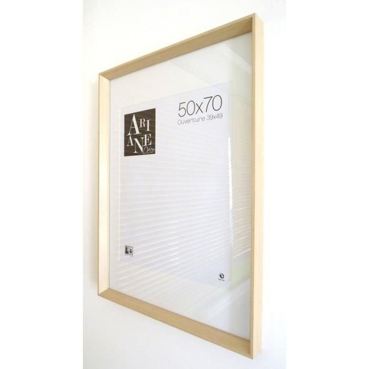 Cadre Photo Cadre Photo Maxi Poster Cadre grand cadre en bois Chêne Noir Blanc