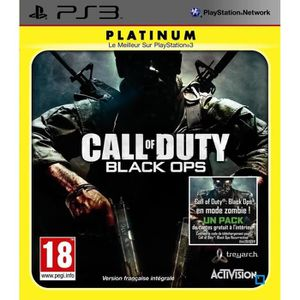 JEU PS3 Call Of Duty Black Ops Platinium Jeu PS3