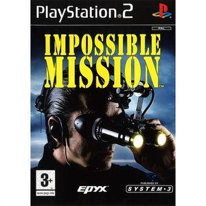 JEU PS2 IMPOSSIBLE MISSION / JEU CONSOLE PLAYSTATION 2