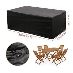 HOUSSE MEUBLE JARDIN  Housse Meuble Jardin 213cm Housse Pour Table de Ja
