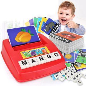 JEU D'APPRENTISSAGE Enfants Anglais Orthographe Alphabet Jeu Apprentis