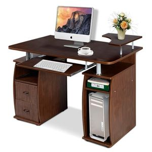 meuble d 39 ordinateur bureau informatique avec rangement achat vente meuble d 39 ordinateur. Black Bedroom Furniture Sets. Home Design Ideas