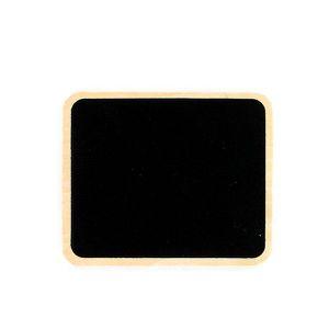 Décors de table ARDOISE EN BOIS 10 X 12 CM  Naturel