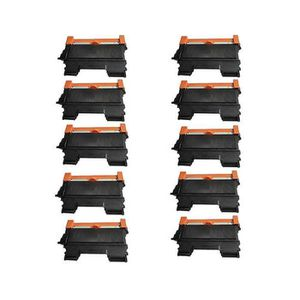 CARTOUCHE IMPRIMANTE 10 Noir Toner Cartouches Pour Brother DCP-7055 DCP