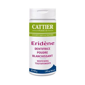 SOIN BLANCHIMENT DENTS CATTIER Eridene Poudre Blanchissante** Bio 40 g